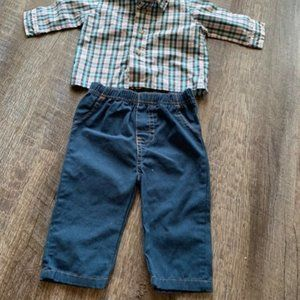 Bundle of two itemd baby boys 3-6 months